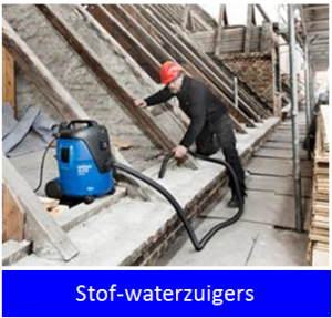 stof-waterzuiger